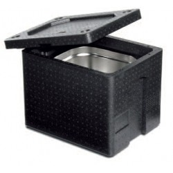 Thermobox 1/2 Gastronorm 200 mm met handgrepen