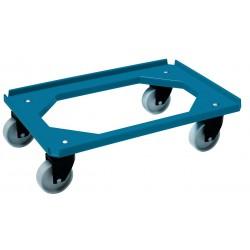 Dollie Mover nylon wiel | blauw