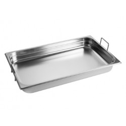 Gastronorm Pan 1/1 GN 150 mm - recessed handles