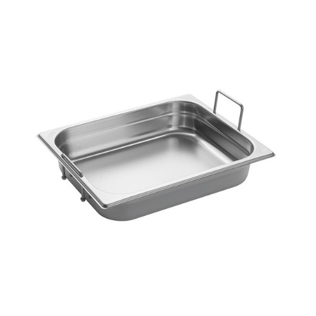 Gastronorm Pan 1/2 GN 65 mm - recessed handles