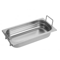 Gastronorm Pan 1/3 GN 65 mm - recessed handles