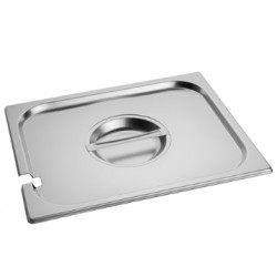 Gastronorm Lid 1/1 with hole for ladles