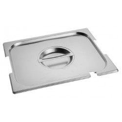 Gastronorm Lid 1/2 with hole for handles and ladles