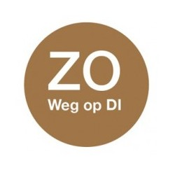 Washable Label 'Zo weg op Di' 19mm