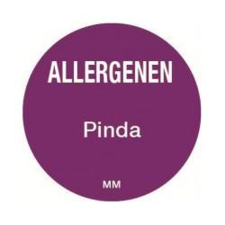 Allergy Label 'Peanut' round 25 mm, 1000/roll