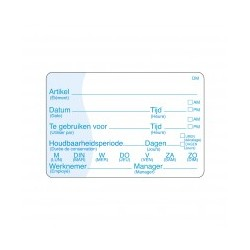 Compl. Soluable Writable Label 250/roll
