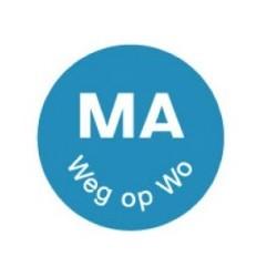 Perm. Label 'Ma weg op wo', 1000/roll