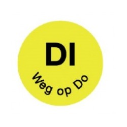 Perm. Label 'Di weg op Do', 1000/roll