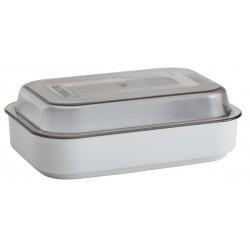 Cover for Porcelain Rectangular Dish