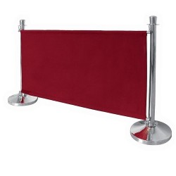 Canvas Barrier Cloth, Red