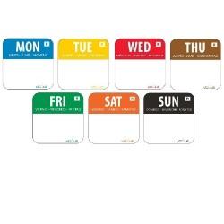 Week Day Sticker Set