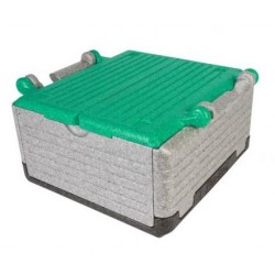 Fold thermobox 'Flipbox' 23 litre - green