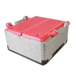 Fold thermobox 'Flipbox' 23 litre - red