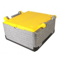 Fold thermobox 'Flipbox' 23 litre - yellow