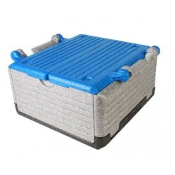 Fold thermobox 'Flipbox' 23 litre - blue