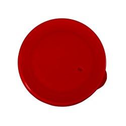 Rechthoekige deksel rood