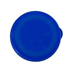 Round Lid Blue