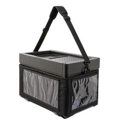 Beach Box with textile bag black