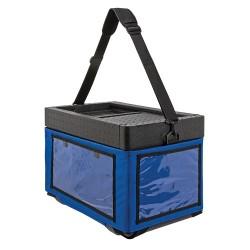 Beach Box with textile bag blue