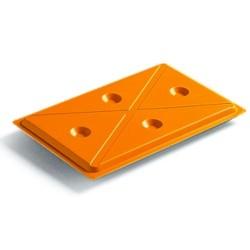 Koelplateau - koelplaat 1/1 GN oranje