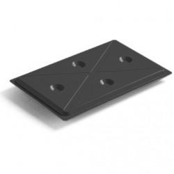 Cooling plate 1/1 GN black