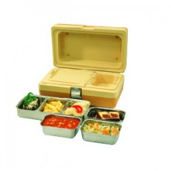 MENUT Duo box incl. set stainless steel 3-comp.