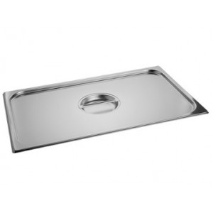 Gastronorm Stainless steel Lids 18/8