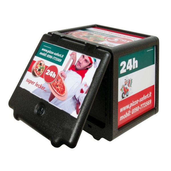 Pizza delivery thermoboxes & E-bike boxes